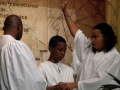 January 6 2013, Baptism - Pastor, Eaddy, and Malcolm